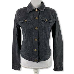 Gap Small Corduroy Jacket Button Front Pockets